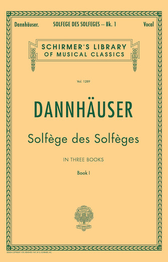 Product Cover for Solfége des Solféges – Book I