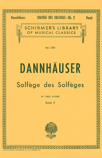 Product Cover for Solfége des Solféges – Book II