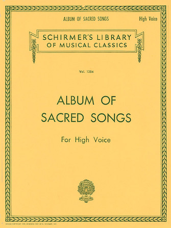 Product Cover for Album of Sacred Songs