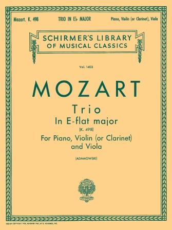 Trio No. 7 in E Flat, K.498