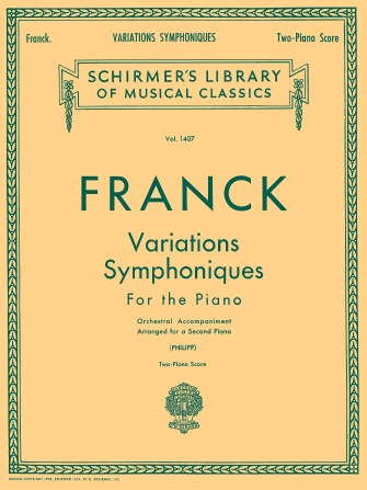 Product Cover for Variations Symphoniques