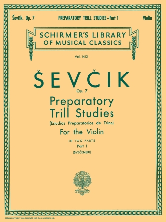 Product Cover for Preparatory Trill Studies, Op. 7 – Book 1