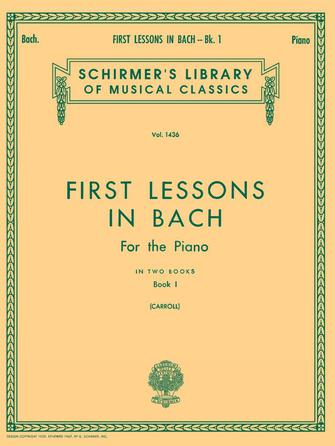 Product Cover for First Lessons in Bach – Book 1