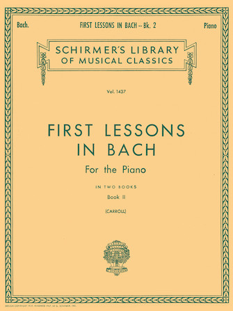 Product Cover for First Lessons in Bach – Book 2