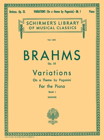 Product Cover for Variations on a Theme by Paganini, Op. 35 – Book 1