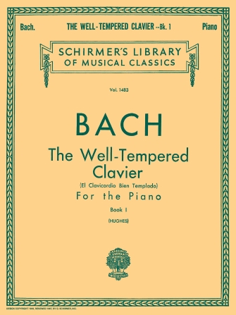 Product Cover for Well Tempered Clavier – Book 1