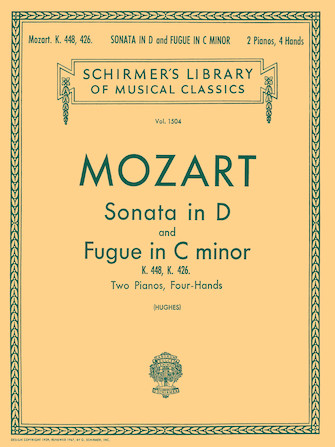 Product Cover for Sonata in D (K.448); Fugue in C Minor (K.426)