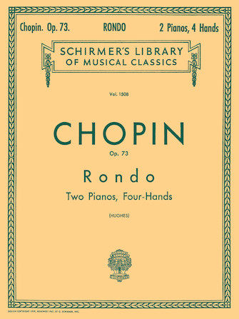 Product Cover for Rondo, Op. 73 (2-piano score)