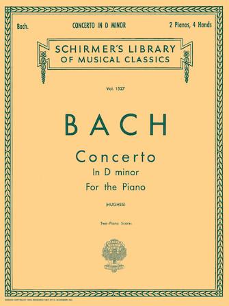 Product Cover for Concerto in D Minor (2-piano score)