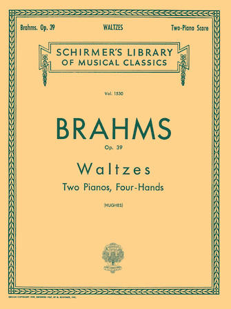Product Cover for Waltzes, Op. 39 (set)