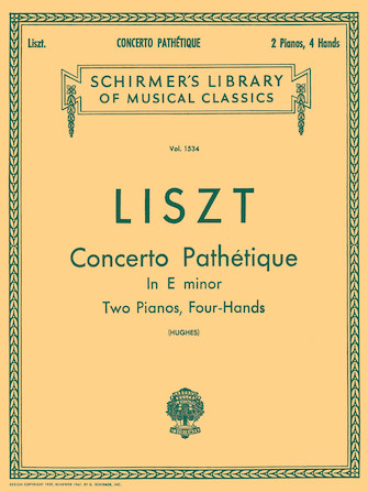 Product Cover for Concerto Pathétique in E Minor (2-Piano Score)
