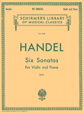 Product Cover for Six Sonatas