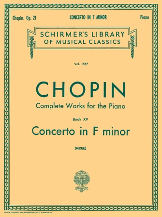 Product Cover for Concerto No. 2 in F Minor, Op. 21