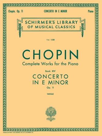 Product Cover for Concerto No. 1 in E Minor, Op. 11