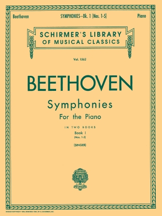 Product Cover for Symphonies – Book 1