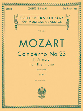 Product Cover for Concerto No. 23 in A, K.488
