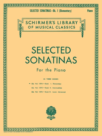 Product Cover for Selected Sonatinas – Book 1: Elementary