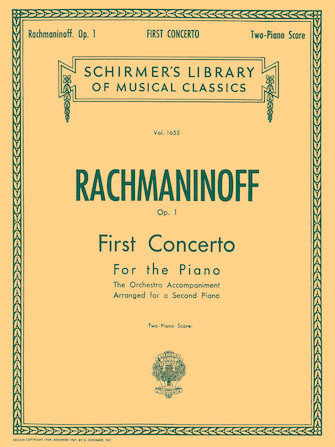 Product Cover for First Concerto for the Piano in F# Minor, Op. 1