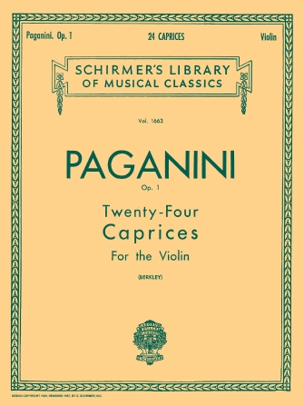 Product Cover for 24 Caprices, Op. 1