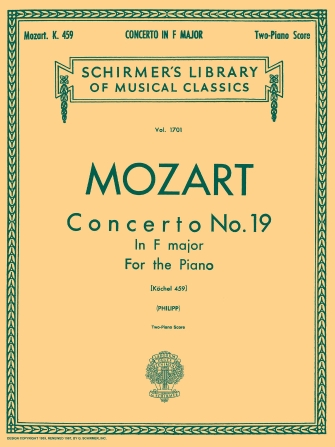 Product Cover for Concerto No. 19 in F, K.459