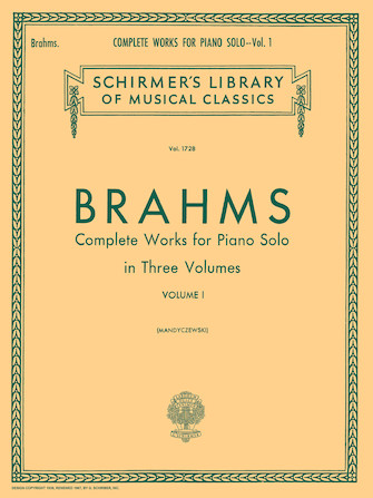 Product Cover for Complete Works for Piano Solo – Volume 1