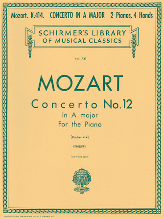 Product Cover for Concerto No. 12 in A, K.414