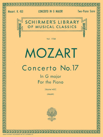 Product Cover for Concerto No. 17 in G, K.453