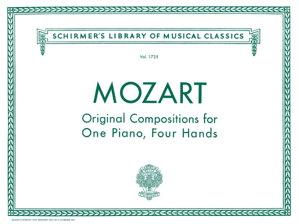 Product Cover for Original Compositions for Piano, 4 Hands