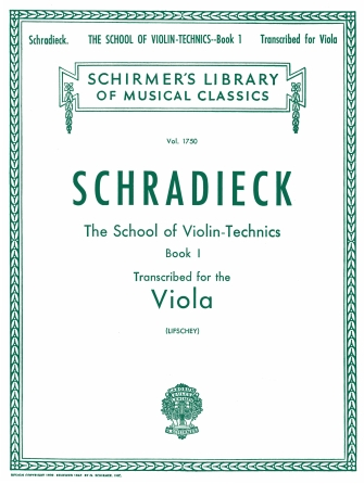 Product Cover for School of Violin Technics, Op. 1 – Book 1