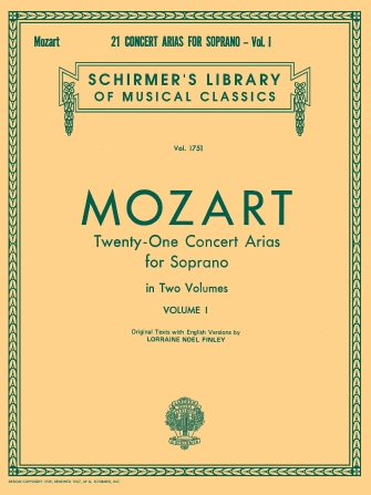 Product Cover for 21 Concert Arias for Soprano – Volume I