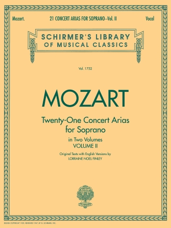 Product Cover for 21 Concert Arias for Soprano – Volume II