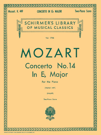 Product Cover for Concerto No. 14 in Eb, K.449