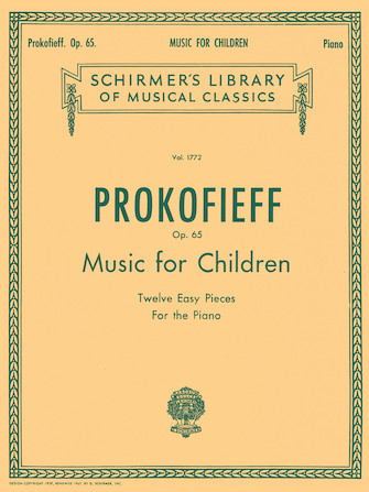 Product Cover for Music for Children, Op. 65 (12 Easy Pieces for the Piano)