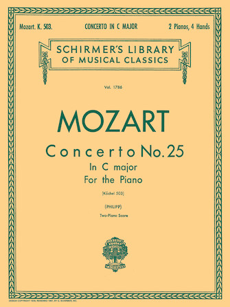 Product Cover for Concerto No. 25 in C, K.503