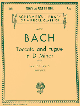 """Product Cover for Toccata and Fugue in D Minor (""""Dorian"""") BWV538"""