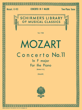 Product Cover for Concerto No. 11 in F, K.413