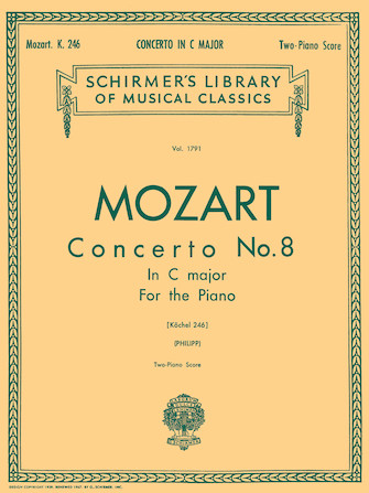 Product Cover for Concerto No. 8 in C, K.246