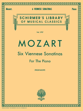 Product Cover for 6 Viennese Sonatinas for the Piano