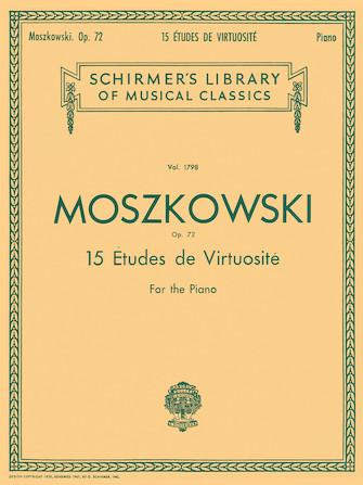 Product Cover for 15 Etudes De Virtuosité, Op. 72