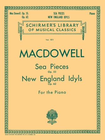 Product Cover for Sea Pieces, Op. 55; New England Idylls, Op. 62