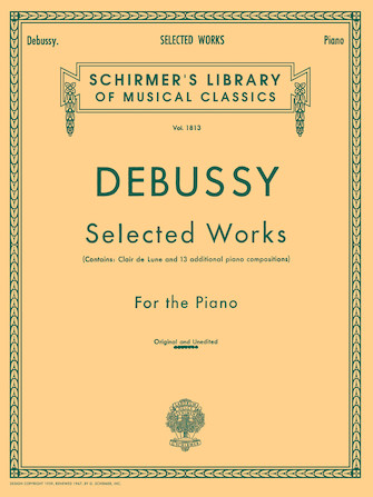 Product Cover for Selected Works for Piano