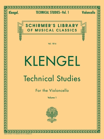 Product Cover for Julius Klengel: Technical Studies for the Violoncello, Volume 1