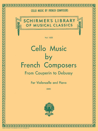 Product Cover for Cello Music by French Composers