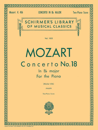 Product Cover for Concerto No. 18 in Bb, K.456