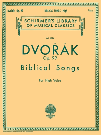 Product Cover for Biblical Songs, Op.99