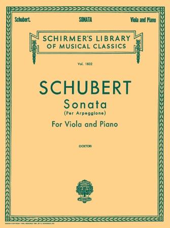 Product Cover for Sonata per Arpeggione