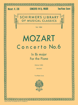 Product Cover for Concerto No. 6 in Bb, K.238