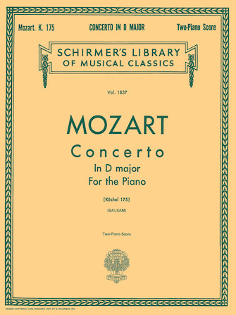 Product Cover for Concerto No. 5 in D, K.175