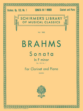Product Cover for Sonata in F Minor, Op. 120, No. 1