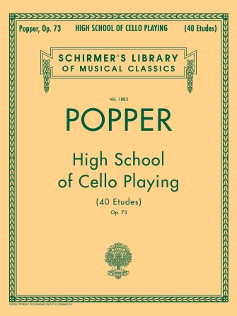 Product Cover for David Popper: High School of Cello Playing, Op. 73